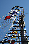 Camden tall ships flags