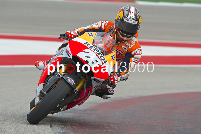 austin. tejas. USA. motociclismo<br /> GP in the circuit of the americas during the championship 2014<br /> 10-04-14<br /> En la imagen :<br /> Moto GP<br /> 26 dani pedrosa<br /> photocall3000 / rme