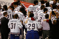 Jun 7, 2007; Hamilton, ON, CAN; Hershey Bears play Hamilton Bulldogs in game five of the Calder Cup finals at Copps Coliseum in Hamilton, ON. The Bulldogs defeated the Bears 2-1 to win the Calder Cup. Mandatory Credit: Ron Scheffler
