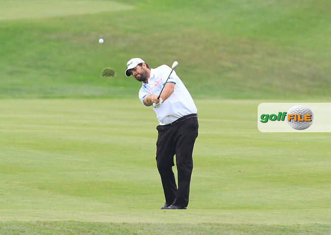 Gonzalo Ganged Onieva (ESP) on the 12th fairway during Round 1 of the Open de Espana  in Club de Golf el Prat, Barcelona on Thursday 14th May 2015.<br /> Picture:  Thos Caffrey / www.golffile.ie
