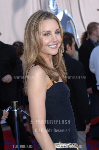 Actress AMANDA BYNES at the world premiere premiere of her new movie Robots..March 6, 2005; Los Angeles, CA..© 2005 Paul Smith / Featureflash