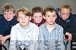 COMPETING BRAINS: The Spa/Fenit quiz team who took part in the All Ireland Finals Pioneer Quiz at Mercy Mounthawk School last Saturday afternoon l:r Owen O'Brien, Antoin Staunton,  Raymond Kelly and twins Fionn and Fiachra Griffin..    Copyright Kerry's Eye 2008