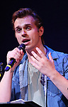 "Zach Adkins during the New York Musical Festival production of  ""Alive! The Zombie Musical"" at the Alice Griffin Jewel Box Theatre on July 29, 2019 in New York City."