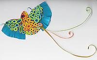 paper quilled Quetzalcoetl