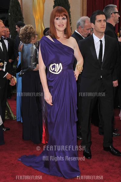 Molly Ringwald at the 82nd Annual Academy Awards at the Kodak Theatre, Hollywood..March 7, 2010  Los Angeles, CA.Picture: Paul Smith / Featureflash