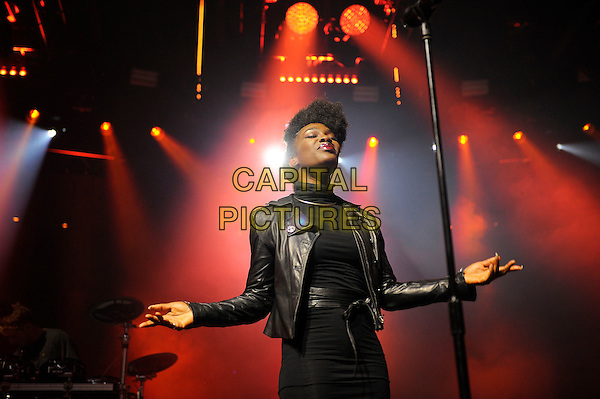 LONDON, ENGLAND - SEPTEMBER 3: Clean Bandit performing at the Camden Roundhouse as part of itunes Festival on September 3 in London, England.<br /> CAP/MAR<br /> &copy; Martin Harris/Capital Pictures