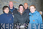 ATTENDENCE: At the Lá Fhéle Bréaniann Maass at The Ardfertt Cathedral,on Thursday evening to mark St Brendan,s Feast day, Front l-r: Roer Stafford, Orla Fitzgerald and Laoise McElligott. Back l-r: James Carroll and David McElligott.