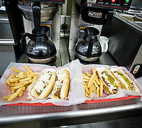 Tuesday's two hotdog special at Sutton's Drugstore.