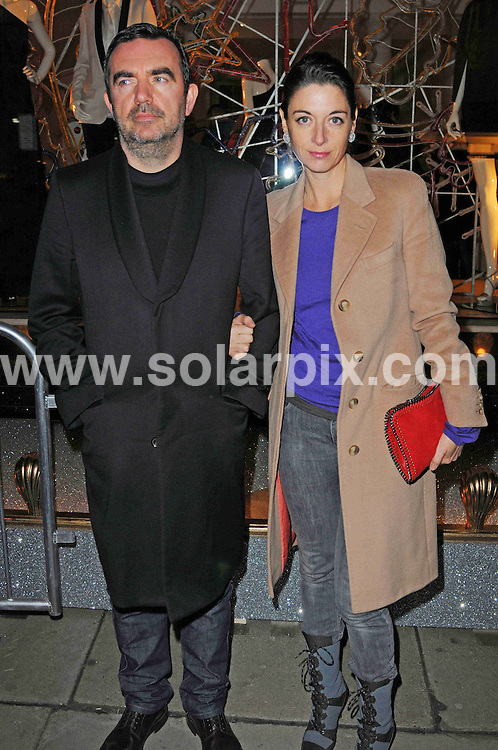 **ALL ROUND PICTURES FROM SOLARPIX.COM** **WORLDWIDE SYNDICATION RIGHTS** Catherine Tate switches on the Christmas lights at the Stella McCartney store on Bruton Street, London, on Monday November 22, 2010.This pic: Mary McCartney JOB REF: 12515 MSR DATE: 22.11.10                                                         **MUST CREDIT SOLARPIX.COM OR DOUBLE FEE WILL BE CHARGED**                                                                      **MUST AGREE FEE BEFORE ONLINE USAGE**                               **CALL US ON: +34 952 811 768 or LOW RATE FROM UK 0844 617 7637**