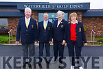 Pictured at the Captains Drive in in Waterville on Sunday were l-r; Jimmy Curran(President), Captain Patrick Fitzgerald, Lady Captain Anne O'Malley & Liz O'Neill(Lady President).