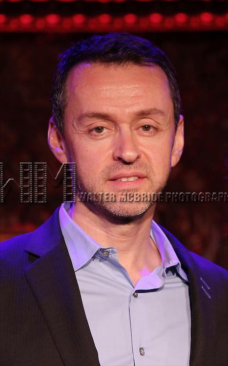 "Andrew Lippa performs A Special Press Preview of their upcoming show ""The Wild Party Swings""  at 54 Below on April 4, 2014 in New York City."