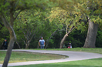 Padraig Harrington (IRL) looks over his second shot from the trees on 6 during day 2 of the Valero Texas Open, at the TPC San Antonio Oaks Course, San Antonio, Texas, USA. 4/5/2019.<br /> Picture: Golffile | Ken Murray<br /> <br /> <br /> All photo usage must carry mandatory copyright credit (© Golffile | Ken Murray)