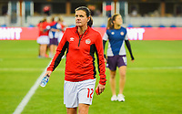 San Jose, CA - Sunday November 12, 2017: Christine Sinclair during an International friendly match between the Women's National teams of the United States (USA) and Canada (CAN) at Avaya Stadium.