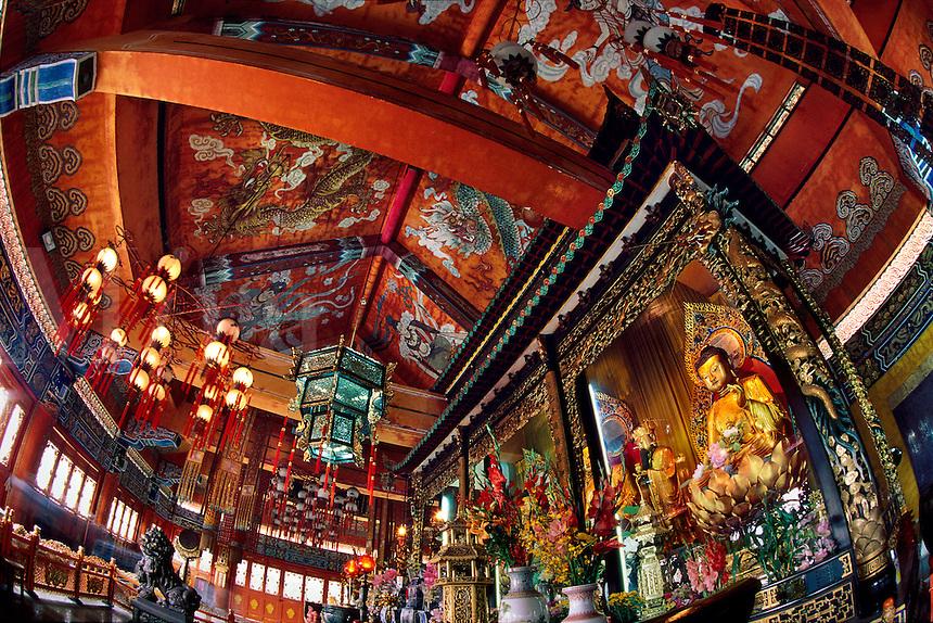 Po Lin Temple, Hong Kong, Lantau Island
