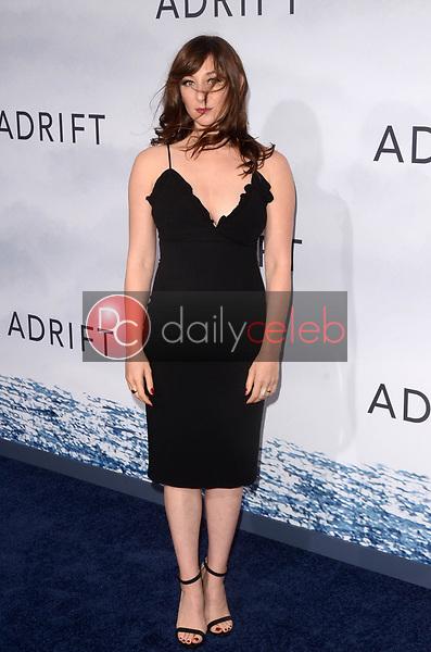 "Isidora Goreshter<br /> at the ""Adrift"" World Premiere, Regal Cinemas L.A. Live, Los Angeles, CA 05-23-18<br /> David Edwards/DailyCeleb.com 818-249-4998"