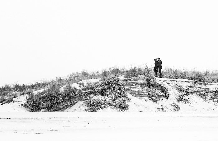 Romantic Scene at Cedar Beach - Featured in Newsday