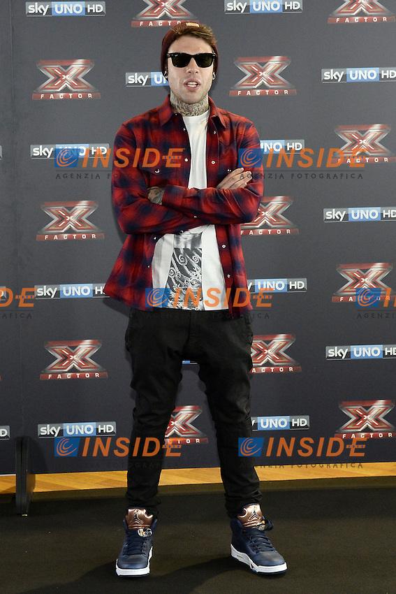 Db Milano 26/10/2016 - photocall trasmissione Tv 'X-Factor' / foto Daniele Buffa/Image/Insidefoto <br /> nella foto: Fedez