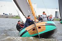 SKUTSJESILEN: LEMMER, Lemmer Ahoy, Skûtsje Lemmer, ©foto Martin de Jong