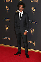LOS ANGELES - SEP 10:  Jermaine Fowler at the 2017 Creative Arts Emmy Awards - Arrivals at the Microsoft Theater on September 10, 2017 in Los Angeles, CA