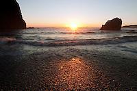 Sunset on Ruby Beach, Washington.<br /> <br /> Canon EOS 30D,17-40 f/4L lens