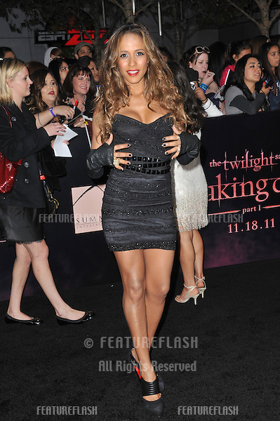 """Dania Ramirez at the world premiere of """"The Twilight Saga: Breaking Dawn - Part 1"""" at the Nokia Theatre, L.A. Live in downtown Los Angeles..November 14, 2011  Los Angeles, CA.Picture: Paul Smith / Featureflash"""