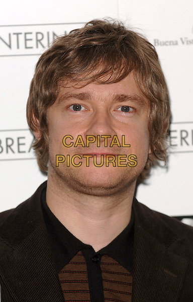 "MARTIN FREEMAN.""Breaking and Entering"" photocall, Dorchester Hotel, London, UK..October 27th, 2006.Ref: BEL.headshot portrait .www.capitalpictures.com.sales@capitalpictures.com.©Tom Belcher/Capital Pictures."
