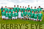 The Ballyduff U14 Feile hurling team that defeated St Brendan's in the U14 Feile A Hurling Final in Abbeydorney on Monday.