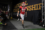 ATLANTA, GA - JANUARY 08: Cameron Nizialek #92 of the Georgia Bulldogs takes the field against the Alabama Crimson Tide during the College Football Playoff National Championship held at Mercedes-Benz Stadium on January 8, 2018 in Atlanta, Georgia. (Photo by Jamie Schwaberow/Getty Images)