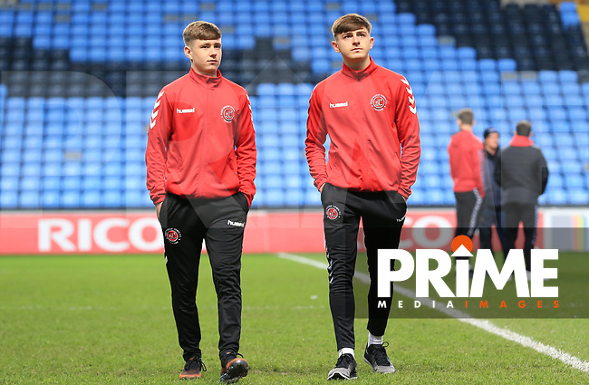 during the Sky Bet League 1 match between Coventry City and Fleetwood Town at the Ricoh Arena, Coventry, England on 12 March 2019. Photo by Leila Coker / PRiME Media Images.
