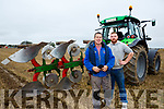 At the Abbeydorney Ploughing Match on Sunday were  Paul Thornton and Donal O'Connor Causeway