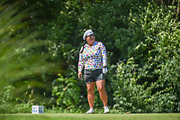 Christina Kim (USA) watches her tee shot on 17 during round 2 of the 2018 KPMG Women's PGA Championship, Kemper Lakes Golf Club, at Kildeer, Illinois, USA. 6/29/2018.<br /> Picture: Golffile | Ken Murray<br /> <br /> All photo usage must carry mandatory copyright credit (&copy; Golffile | Ken Murray)