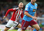 Matt Done of Sheffield Utd during the English League One match at Glanford Park Stadium, Scunthorpe. Picture date: September 24th, 2016. Pic Simon Bellis/Sportimage