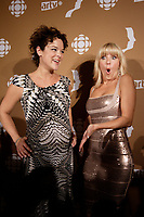 September 16 2012 - Montreal, Quebec, CANADA - Gemeaux Awards Gala - <br /> Helene Bourgeois Leclerc , Veronique Cloutier
