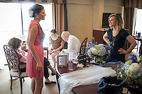 Copyright Justin Cook | August 5, 2012..Elissa and Shaul are married at Claxton Farm in Weaverville, NC