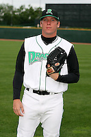 June 17th 2008:  Jeff Jeffords of the Dayton Dragons, Class-A affiliate of the Cincinnati Reds, during the Midwest League All-Star Game at Dow Diamond in Midland, MI.  Photo by:  Mike Janes/Four Seam Images