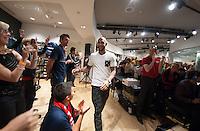 Seattle, Washington - Sunday, June 9, 2013: USMNT fan festival event at Niketown.