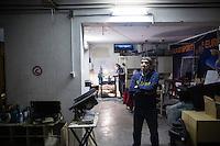 L'aquila, Abruzzo, Italia. 26.03.2014. Giampaolo Giuliani arbeidet tidligere ved Gran Sasso Laboratoriet i Abruzzo og varslet om skjelvet flere dager i forveien ved hjelp av et egenutviklet og kontroversielt instrument. Han fikk munnkurv og ble anmeldt av myndighetene. L'aquila, 6. april 2009 kl. 03:32: Et jordskjelv som måler 6.3 ryster byen. 309 mennesker mister livet. Fem år senere sliter de som overlevde fortsatt med etterskjelvene, i form av en guffen cocktail av uærlige offentlige tjenestemenn, mafia og 494 millioner øremerkede euro på avveie. Fotografier til bruk i feature i DN lørdag 05.04.2014. Foto: Christopher Olssøn.