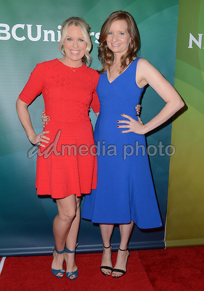 14 January  - Pasadena, Ca - Jessica St. Clair, Lennon Parham. NBC Universal Press Tour Day 2 held at The Langham Huntington Hotel. Photo Credit: Birdie Thompson/AdMedia