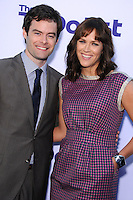 WESTWOOD, CA - JULY 23: Bill Hader and Maggie Carey attend the premiere of CBS Films' 'The To Do List' at the Regency Bruin Theatre on July 23, 2013 in Westwood, California. (Photo by Celebrity Monitor)