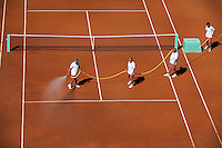 25-05-11, Tennis, France, Paris, Roland Garros, Court maintenance,  water
