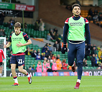 Bolton Wanderers' Josh Magennis during the pre-match warm-up <br /> <br /> Photographer David Shipman/CameraSport<br /> <br /> The EFL Sky Bet Championship - Norwich City v Bolton Wanderers - Saturday 8th December 2018 - Carrow Road - Norwich<br /> <br /> World Copyright &copy; 2018 CameraSport. All rights reserved. 43 Linden Ave. Countesthorpe. Leicester. England. LE8 5PG - Tel: +44 (0) 116 277 4147 - admin@camerasport.com - www.camerasport.com