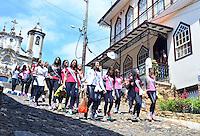 OURO PRETO, MG - MISS BRASIL 2013 - Candidatas ao Miss Brasil 2013 visitam a cidade histórica de Ouro Preto, a 100 km de Belo Horizonte, nesta sexta-feira. O maior concurso de beleza do país será realizado no próximo dia 28 no Minascentro, em Belo Horizonte. (Foto: Eduardo Tropia / Brazil Photo Press)