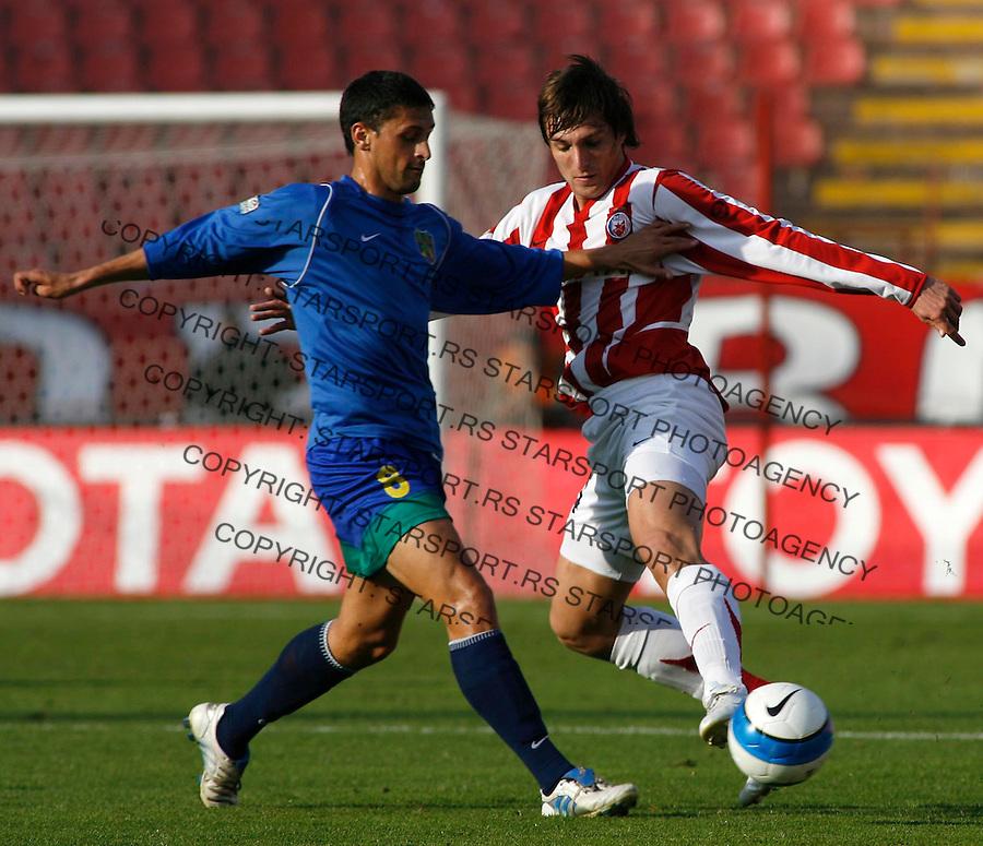Fudbal, Super liga, Sezona 2006/07&amp;#xA;Crvena Zvezda-Zemun&amp;#xA;ALEKSANDAR TRISOVIC&amp;#xA;Beograd, 18.11.2006.&amp;#xA;foto: SRDJAN STEVANOVIC&amp;#xA;<br />