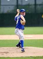 Brent Fisher / AZL Royals rehab appearance..Photo by:  Bill Mitchell/Four Seam Images