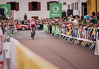 Anthony Turgis (FRA/Cofidis) rolling out<br /> <br /> Stage 20 (ITT): Saint-P&eacute;e-sur-Nivelle &gt;  Espelette (31km)<br /> <br /> 105th Tour de France 2018<br /> &copy;kramon