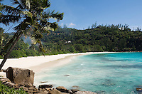 Seychelles, Island Mahe, Petite Anse: beach at southwest coast