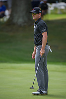 Zach Johnson (USA) barely misses his put on 16 during 1st round of the World Golf Championships - Bridgestone Invitational, at the Firestone Country Club, Akron, Ohio. 8/2/2018.<br /> Picture: Golffile | Ken Murray<br /> <br /> <br /> All photo usage must carry mandatory copyright credit (© Golffile | Ken Murray)