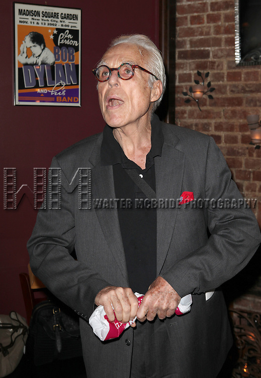 John Guare.attending the New York Drama Critics' Circle Awards at Angus McIndoe in New York City on 5/14/2012.