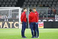 Englische Mannschaft im Innenraum - 22.03.2017: Deutschland vs. England, Westfalenstadion Dortmund