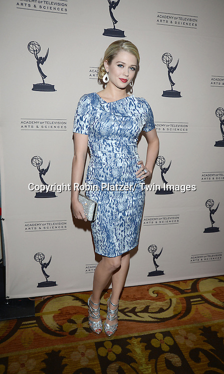 Brooke Newton attends the Academy Of Television Arts & Science Daytime Programming  Peer Group Celebration for the 40th Annual Daytime Emmy Awards Nominees party on June 13, 2013 at the Montage Beverly Hills in Beverly Hills, California.